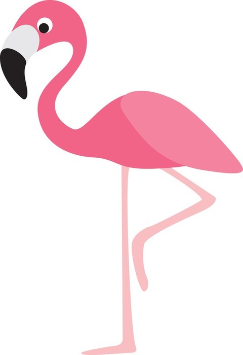 Flamingo Cartoon Sticker Pixers 174 We Live To Change
