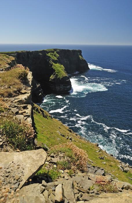Vinylová Tapeta Irské útesy - Příroda a divočina