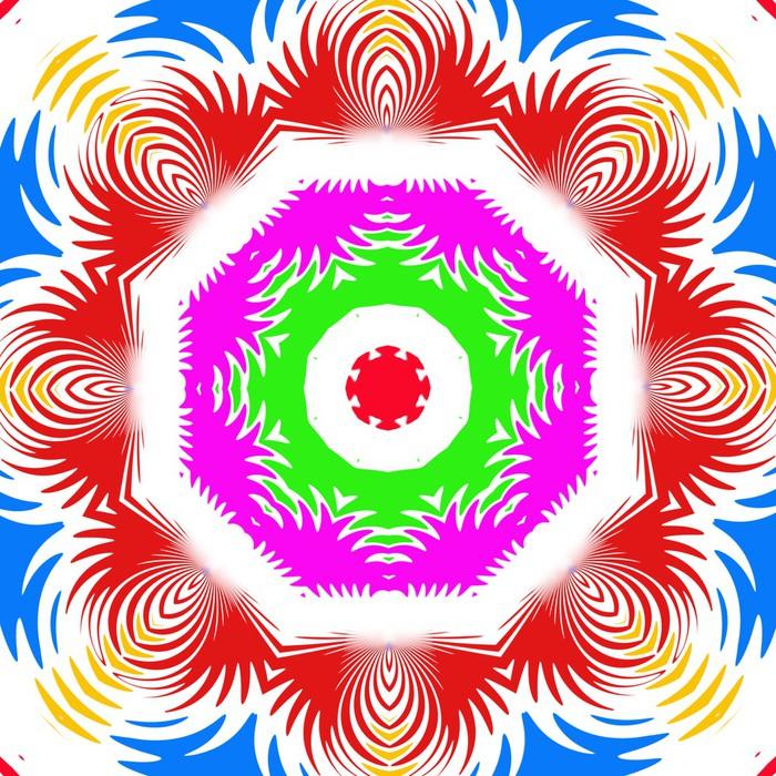 Vinylová Tapeta Kaleidoskop - Abstraktní
