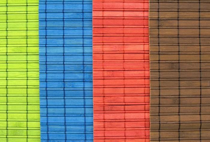 Plakát Esterillas de colores - Pozadí