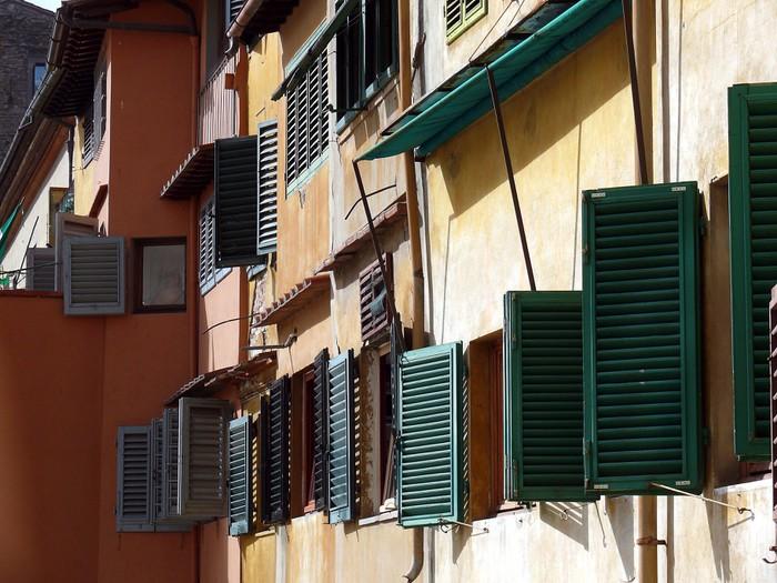 Vinylová fototapeta FENETRES toscanes - Vinylová fototapeta