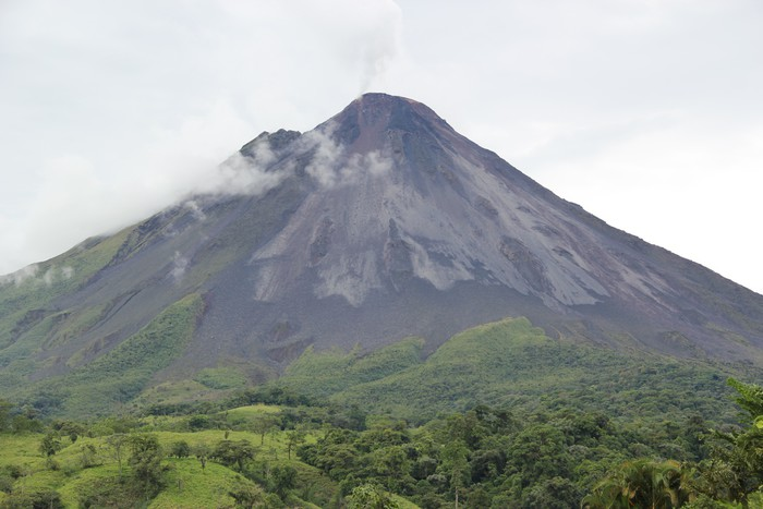 Vinylová Tapeta Arenal Volcano--deštného pralesa Střední Ameriky - Přírodní katastrofy
