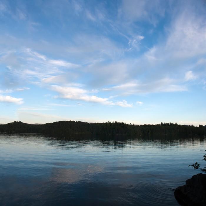 Vinylová Tapeta Snižte Saranac Lake Panorama - Voda