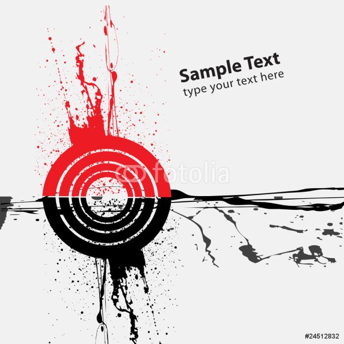 Vinylová Tapeta Abstraktní pozadí design - Umění a tvorba
