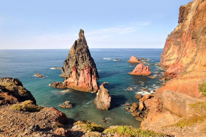 Vinylová Tapeta Východní pobřeží ostrova Madeira? Ponta de Sao Lourenco - Přírodní krásy