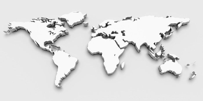 3d world map wall mural pixers we live to change 3d world map vinyl wall mural signs and symbols publicscrutiny Images