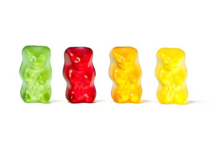 fototapete gummy bears pixers wir leben um zu ver ndern. Black Bedroom Furniture Sets. Home Design Ideas