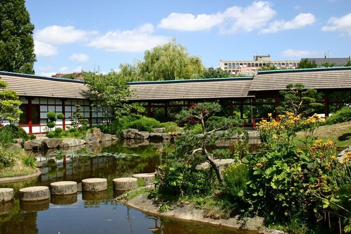sticker jardin japonais nantes pixers nous vivons pour changer. Black Bedroom Furniture Sets. Home Design Ideas