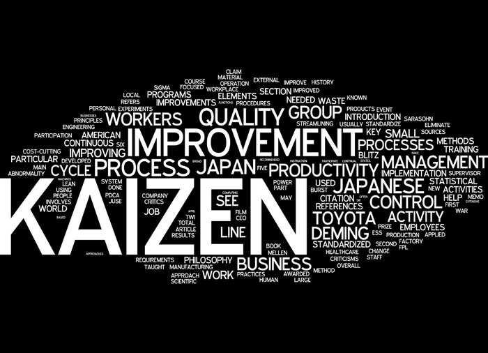 Kaizen Wall Mural • Pixers® • We live to change