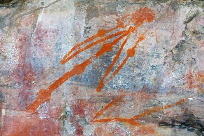 Vinylová Tapeta Domorodé skalní umění, Ubirr, Kakadu N / P, Australia - Oceánie