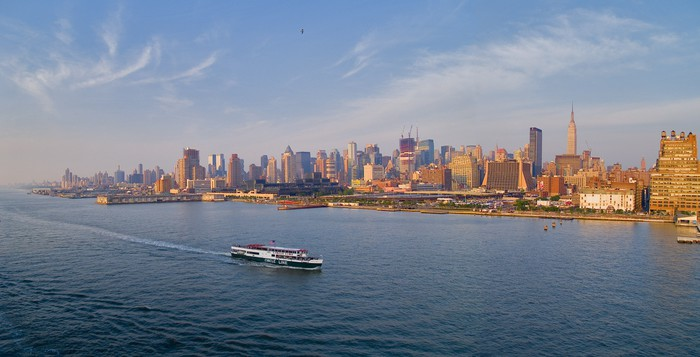 Vinylová Tapeta New York City panorama - Americká města