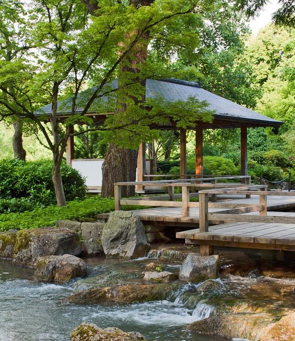 Vinylová Tapeta Natur Garten I - Asie
