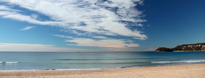 Vinylová Tapeta Manly Beach Sydney Austrálie - Oceánie