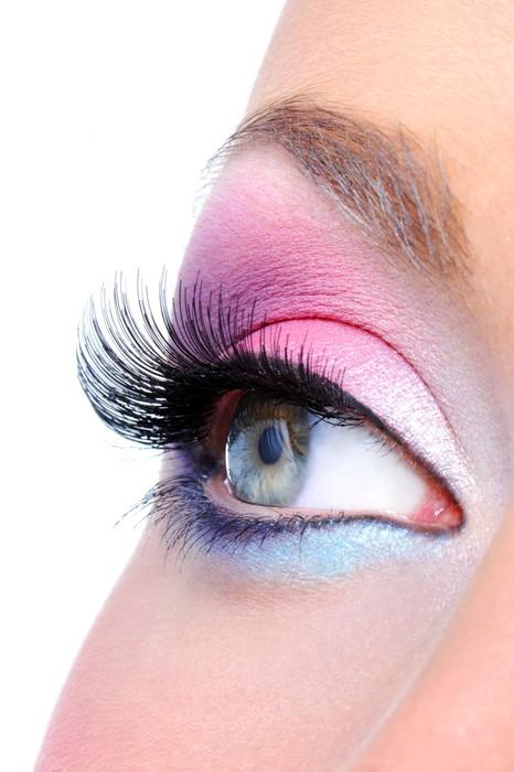 Vinylová Tapeta Módní make-up ženské oko - Témata
