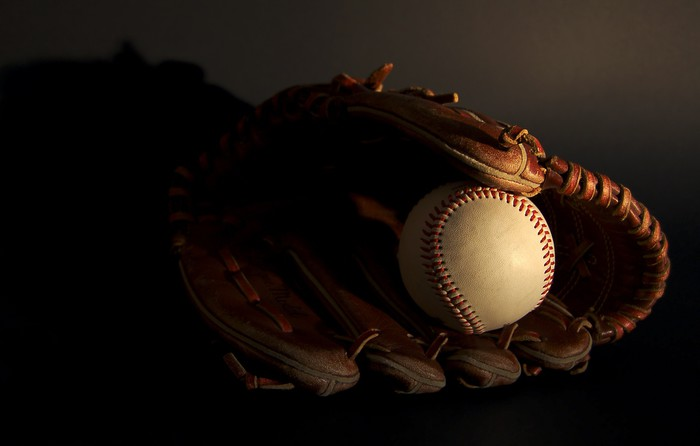 Vinylová Tapeta Vintage baseball - Týmové sporty