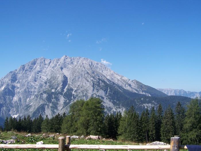 Vinylová Tapeta Bayrisch berg - Hory