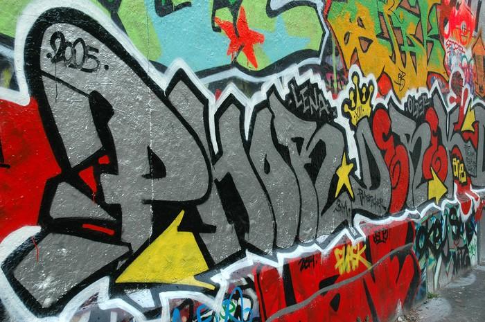 Vinylová Tapeta Graffiti - Témata