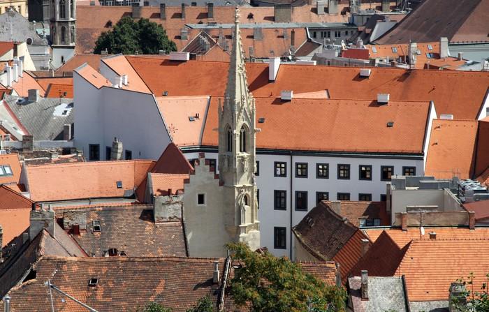 Vinylová Tapeta Bratislava-pohled z hradu - Jiné