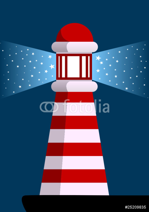 lighthouse Vinyl Wallpaper - Infrastructure