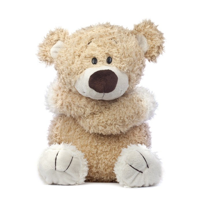 Sad And Lonely Teddy Bear Poster