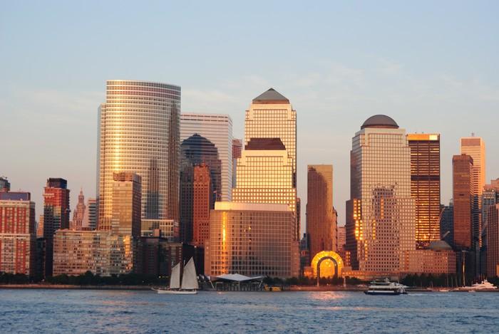 Vinylová Tapeta West Side na Manhattanu - Americká města