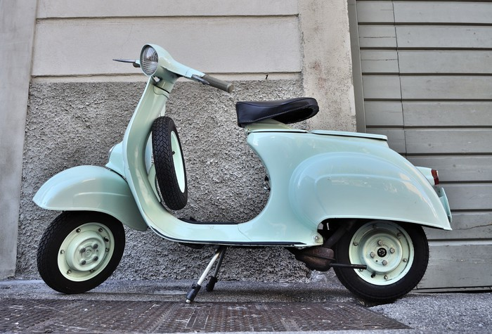 vespa 50 n del 1965 wall mural pixers we live to change. Black Bedroom Furniture Sets. Home Design Ideas