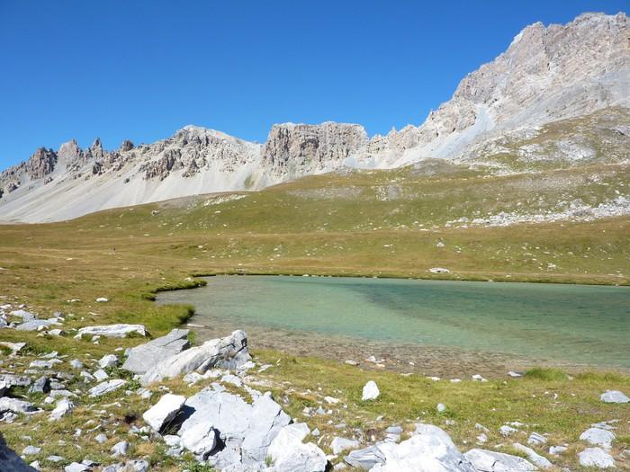 Vinylová Tapeta Lac de l'oronaye - Hory