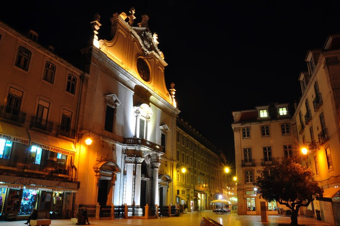 Vinylová Tapeta Kostel Sao Domingos. Lisabon, Portugalsko - Evropská města