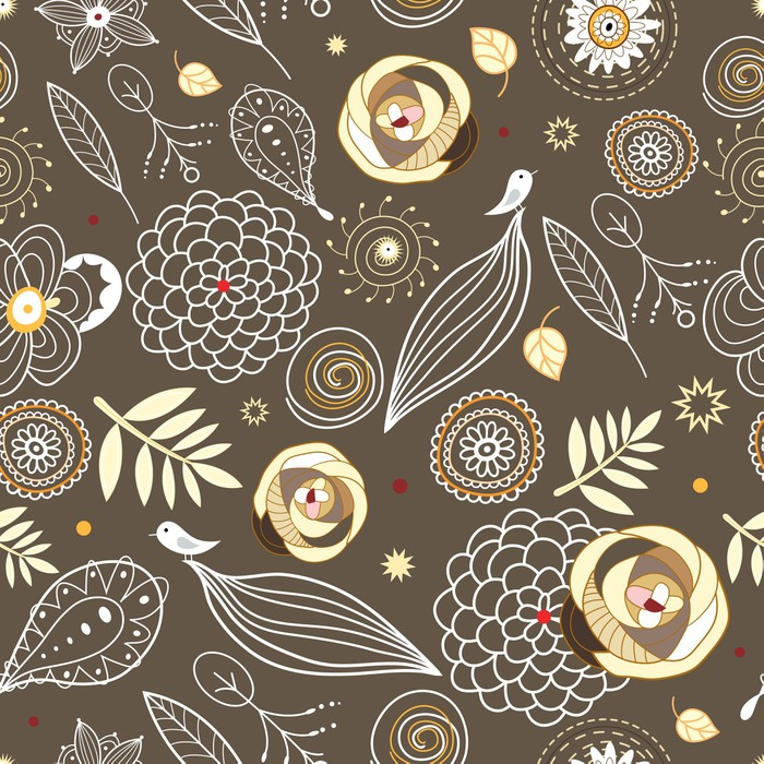 Vinylová Tapeta Flower textury - Umění a lifestyle