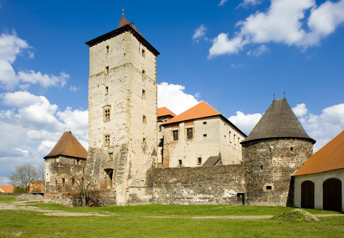 Vinylová Tapeta Vodní hrad Švihov, Česká republika - Evropa