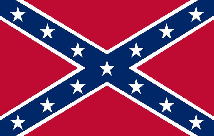 Vinylová Tapeta Confederate Flag - Témata