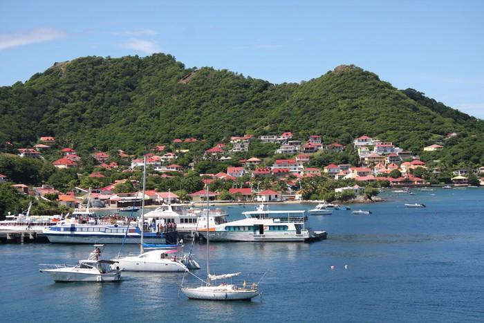 Vinylová Tapeta Les Saintes en Guadeloupe - Prázdniny