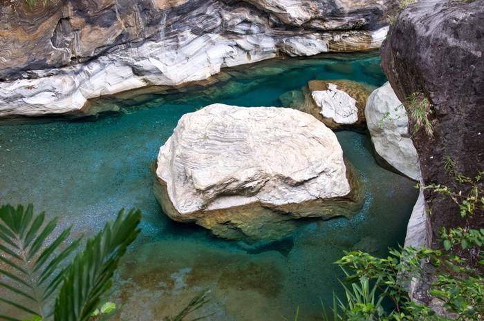 Vinylová Tapeta Marble Rock, Tchaj-wan - Asie