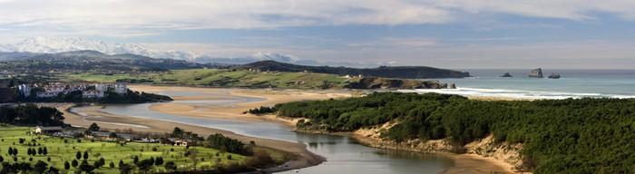 Vinylová Tapeta Estuario del Rio Pas (Cantabria) - Voda