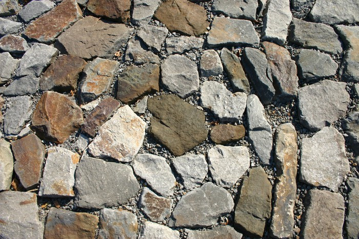 Vinilo pixerstick pavimento de piedra natural pixers for Pavimento piedra natural
