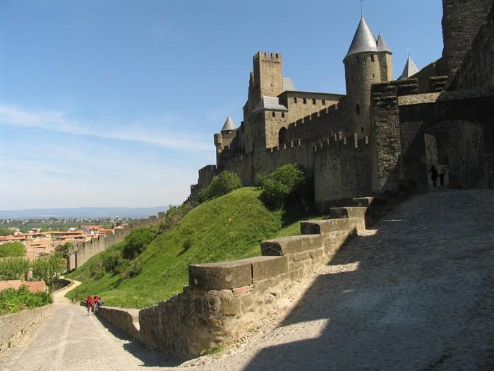 Vinilo Para Pared Carcassonne Paredes Exteriores