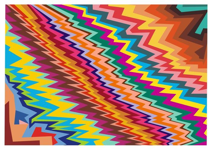 papier peint art abstrait couleurs pop art pixers. Black Bedroom Furniture Sets. Home Design Ideas