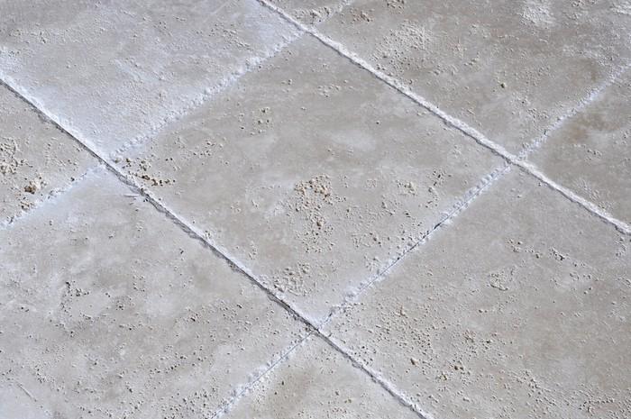 Carta da parati travertino pavimento di piastrelle u pixers