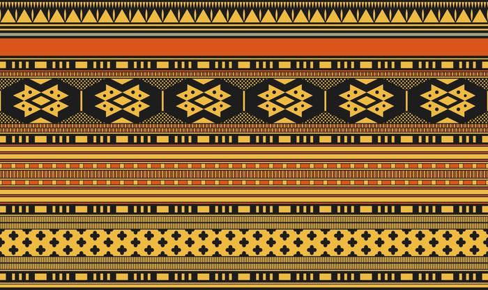 Vinylová Tapeta Seamless medievel vector pattern - Pozadí