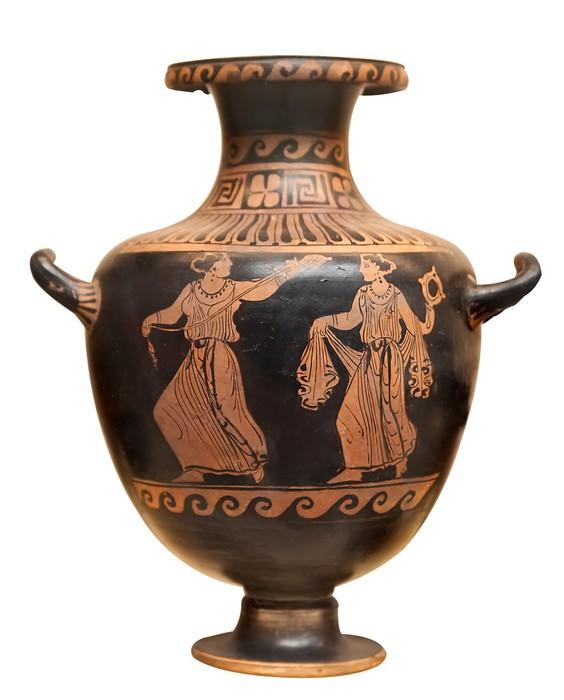 Papier peint ancien vase grec isol sur blanc pixers nous vivons pour changer - Papier peint ancien ...