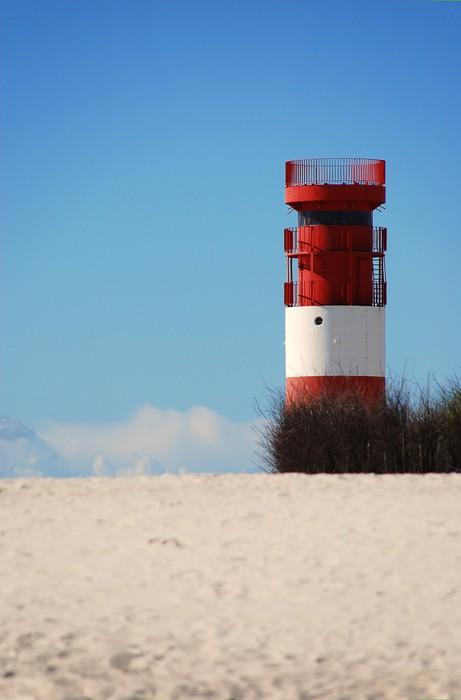 Vinylová Tapeta Maják na Helgoland - Ostrovy