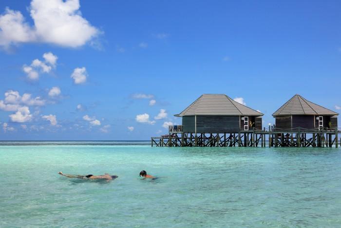 Vinylová Tapeta Maledivy dojmy - Prázdniny