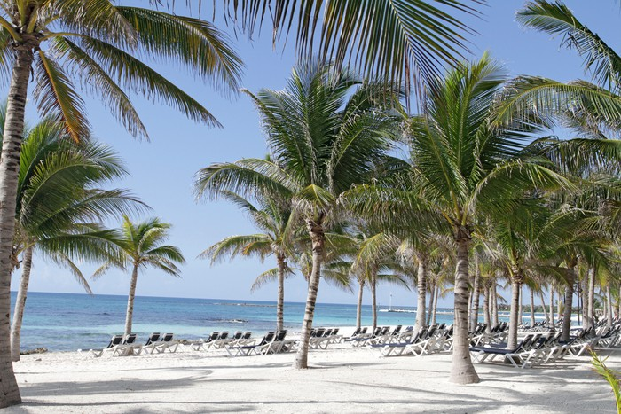 Riviera Maya Mexico Beach Vinyl Wallpaper - Holidays