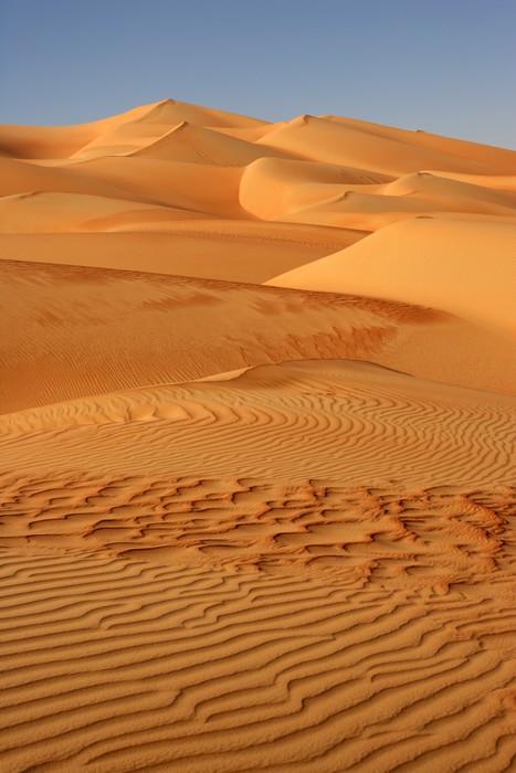 Vinylová Tapeta Prázdné čtvrtletí Dunes - Střední Východ