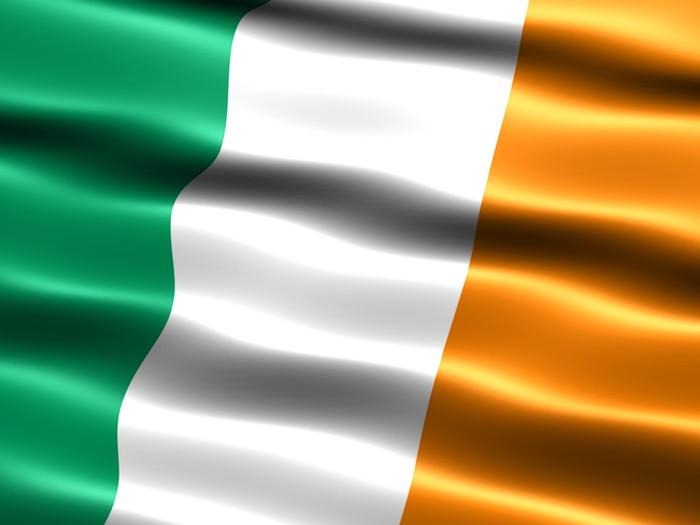 Vinylová Tapeta Vlajka Irska - Evropa