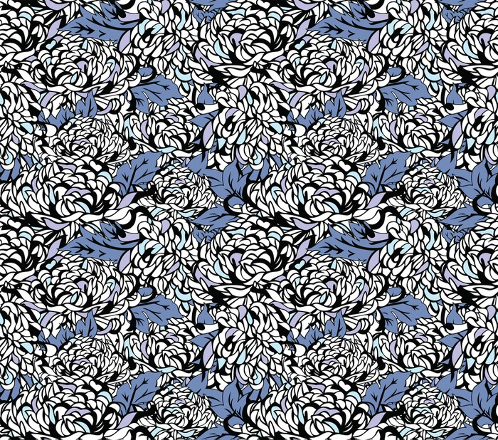 papier peint motifs floraux japonais pixers nous vivons pour changer. Black Bedroom Furniture Sets. Home Design Ideas