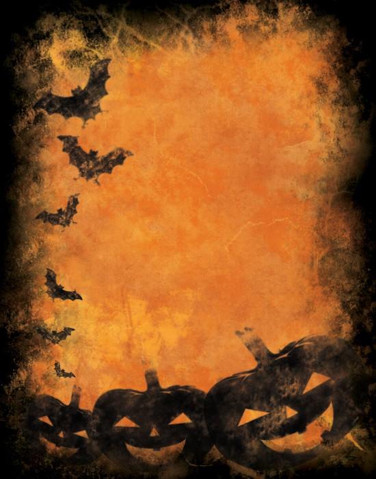 Plakát Grunge halloween pozadí - Mezinárodní svátky