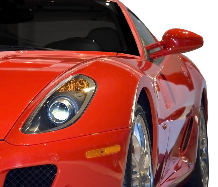 fototapete red sports car pixers wir leben um zu. Black Bedroom Furniture Sets. Home Design Ideas