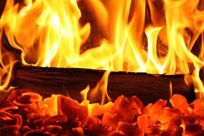 Fototapete Kaminfeuer fototapete kaminfeuer i pixers wir leben um zu verändern