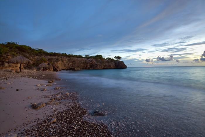 Vinylová Tapeta Sunset Curacao - Příroda a divočina
